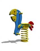 Качалка-балансир на пружине «Попугай», Классика