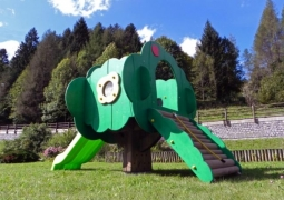 Детский игровой комплекс «Волшебная Яблоня» (горка)100-2