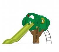 Детский игровой городок (горка) «Сказочное дерево», модель 150-3