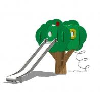 Детский игровой комплекс (горка)  «Сказочное дерево», модель 150-4