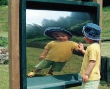 Отражающая игровая панель «Волшебное зеркало», 70X140см
