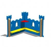 Игровая зона (модуль) «Средневековый ЗАМОК»,148x148 h120см
