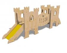 Детская игровая мебель «Замок «Graal» 82x445 h145см