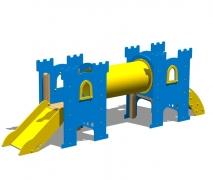 """Замок """"Шервуд"""", детский городок, башни горка мост-туннель лестница"""