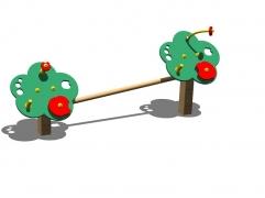 """Игровой набор """"Яблоки, первые шаги"""" для детской площадки развивающий"""