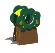 """""""Грушевое дерево"""" для детской площадки (корзина для мусора)"""