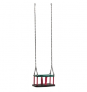 Гойдалка дитяча підвісна/ Качели подвесные детские «Традиция» сиденье с цепями подвеса (цена)