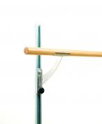 Стойка-держатель для балетного станка VARIO 1-я нерж. сталь, регулировка