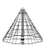 Детская карусель, канаты, сталь «Маленькая Пирамида», в.2,95м