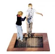 Батут Trampoline 2014 для детской уличной площадки встраиваемый