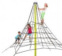 Веревочный комплекс, пирамида для лазанья, высота 2,7м