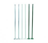 Подпорки сетки для большого тенниса алюминиевые зеленые