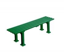 Скамья теннисная для теннисного корта Мюнхен пластик зеленая 1,50м