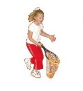 Учебный инвентарь для большого тенниса ракетка-ловушка