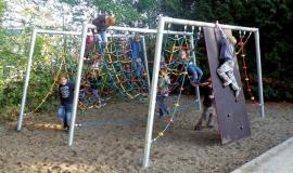 Веревочный комплекс «Горки» для общественных детских площадок