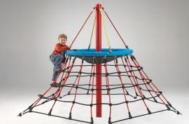 Пирамида альпинистская «Звезда» канатная для детской площадки в.2,10м