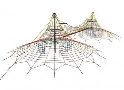 Веревочный парк «Пирамида Хеопса МАКСИ» 2 башни в.6,3м