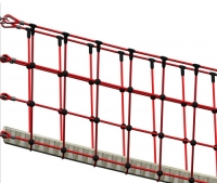 """Веревочный мост подвесной  """"Джунгли"""", канат 160мм"""