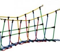 Канатный мост для детской площадки в.85см  V-формы (веревочный парк)