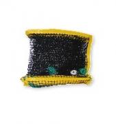 Сетка для пляжного тенниса пр. 3мм, ячейка 45х45мм, 9,5х1м