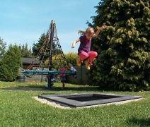 Батут Kids Tramp 107х107см встраиваемый для детской площадки