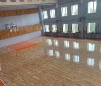 Паркет для спортзалу КЛЕН в55-65мм, плаваюча спортивна підлога