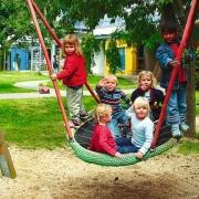 Качели подвесные детские гнездо Original Huck bird's nest Ø1,20м