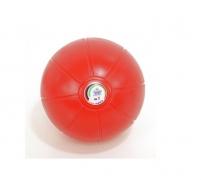 Медбол (Мяч медицинский) резиновый клапан игла, 1,5кг