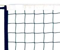 Сітка волейбольна (волейбольная сетка) Чемпионат 5мм (вкл.антенны, карманы)