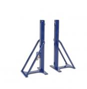 Стойки для большого тенниса для спортзала 80х80мм стальные