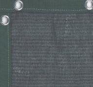 Фон теннисный для кортов зеленый 18х2м люверсы (купить ветролом)