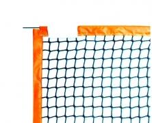 Сетка для пляжного тенниса нейлон, цветные края - полипропилен